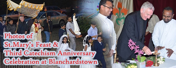 Photos of Third Catechism Anniversary And St Mary's Feast at Blanchardstown October 2013