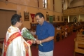 Reception for Fr. Manoj Ponkattil at Blanchardstown mass centre