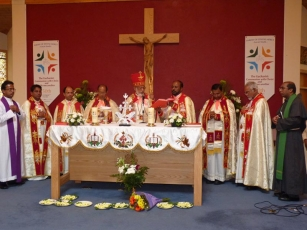 Mass by Cardinal George Alencherry at Lucan Parish