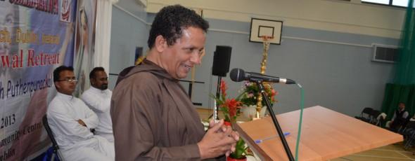 Fr Joseph Puthenpurackal, Family Reatreat Dublin, September 2013  Photos