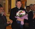ലോങ്ങ്ഫോർഡ് സീറോ മലബാർ മാസ് സെന്റർ അർദ ക്ലോണ്മാക്നോയിസ് ബിഷപ്പ് ഫ്രാൻസിസ് ഡഫി സന്ദർശിച്ചു