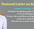 Pastoral Letter on Sabhadinam by GEORGE CARDINAL ALENCHERRY, the Major Archbishop of the Syro-Malabar Church