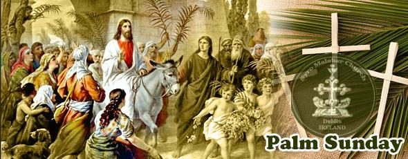 ഡബ്ലിന് സീറോ മലബാര് സഭയിലെ ഓശാന തിരുകർമ്മങ്ങൾ